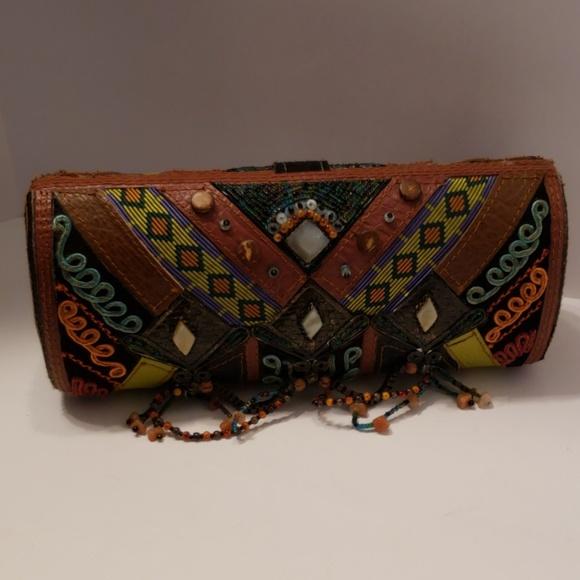 Mary Frances Handbags - Mary Frances Multi-color clutch